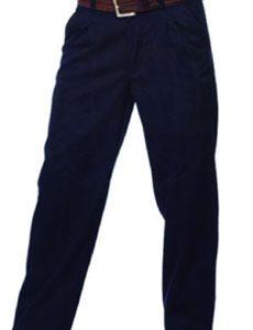 pantalon oficina azul